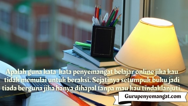 Kata-kata Motivasi Penyemangat Belajar Online