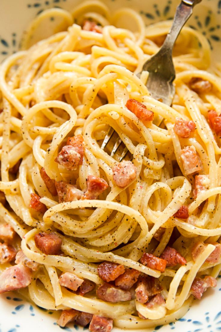 Easy Spaghetti Carbonara Sauce
