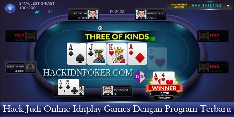 Hack Idn Poker Hack Judi Online Idnplay Games Dengan Program Terbaru