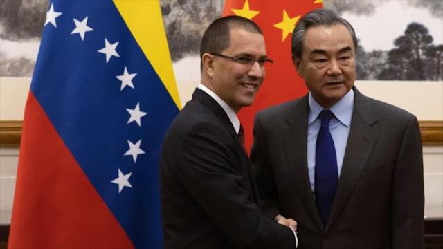 China reafirma su apoyo a Venezuela frente a injerencia de EEUU