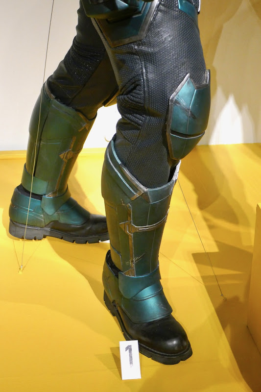 Captain Marvel Yon-Rogg costume legs boots