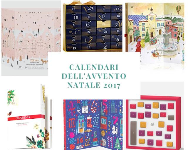 Calendari dell'Avvento Natale 2017