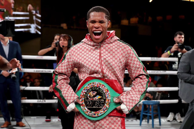 Devin Haney and WBC Title
