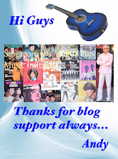 ANDY 60S MUSIC THANKS ALL READERS FOR FOLLOWING BLOG ON FACEBOOK