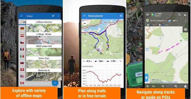 Aplikasi Locus Map