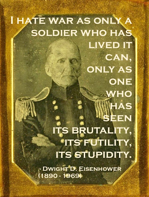 Daguerreotype portrait of American Brigadier General Thomas Lawson, c. 1840's. Mexican American War. Quote Eisenhower I hate war. Armchair General and other stories of The Better Defense. marchmatron.com