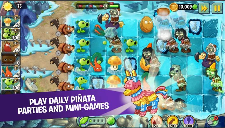 تحميل لعبة Plant vs.Zombies 2