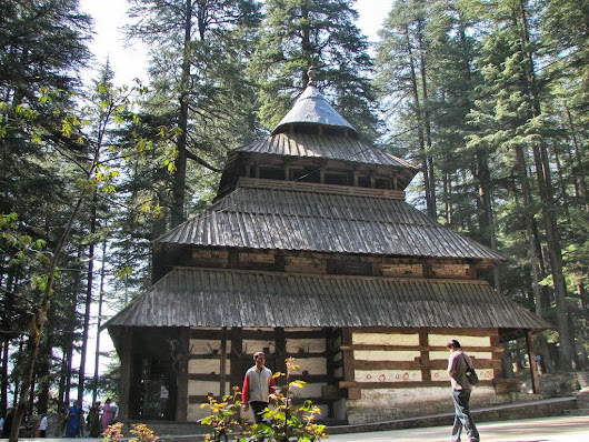 Hidimba Devi Temple in Himachal Pradesh ~ Tourist Places in India