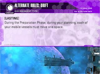 Dog Fight: Starship Edition Alternate Rules: Drift