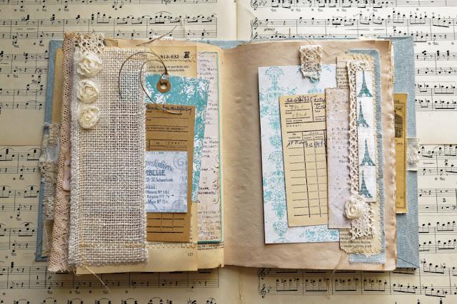 Junk journal z kopertą