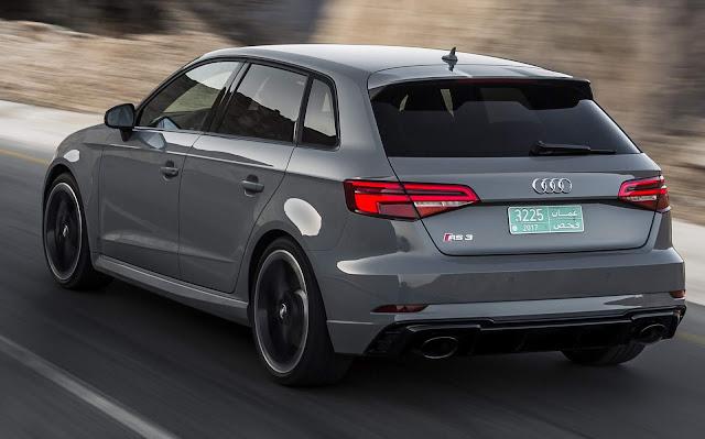 Nova Audi RS3 2018: chega ao Brasil por R$ 329.990 nas duas versões