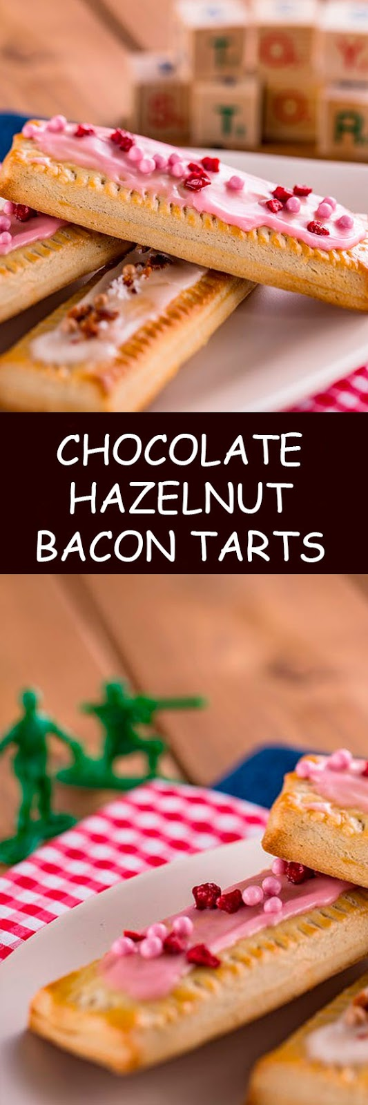 Chocolate-Hazelnut Bacon Tarts