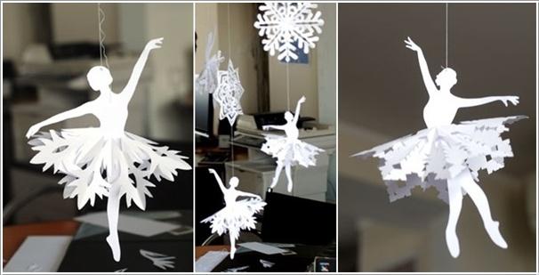 Новогодние снежинки - вырезаем с выдумкой