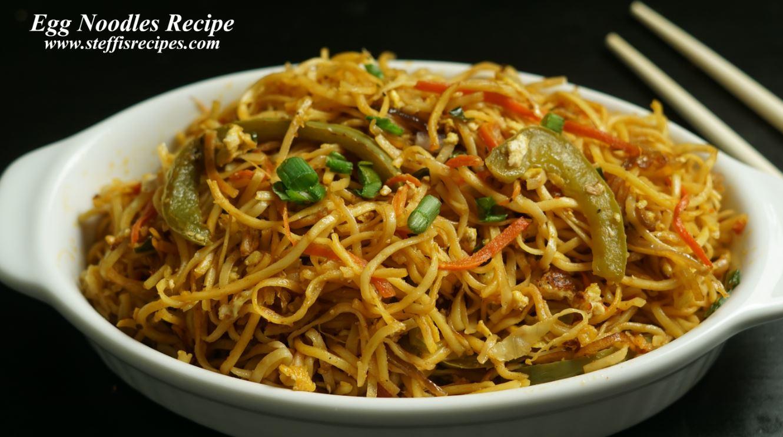 Egg Noodles Recipe Steffi S Recipes