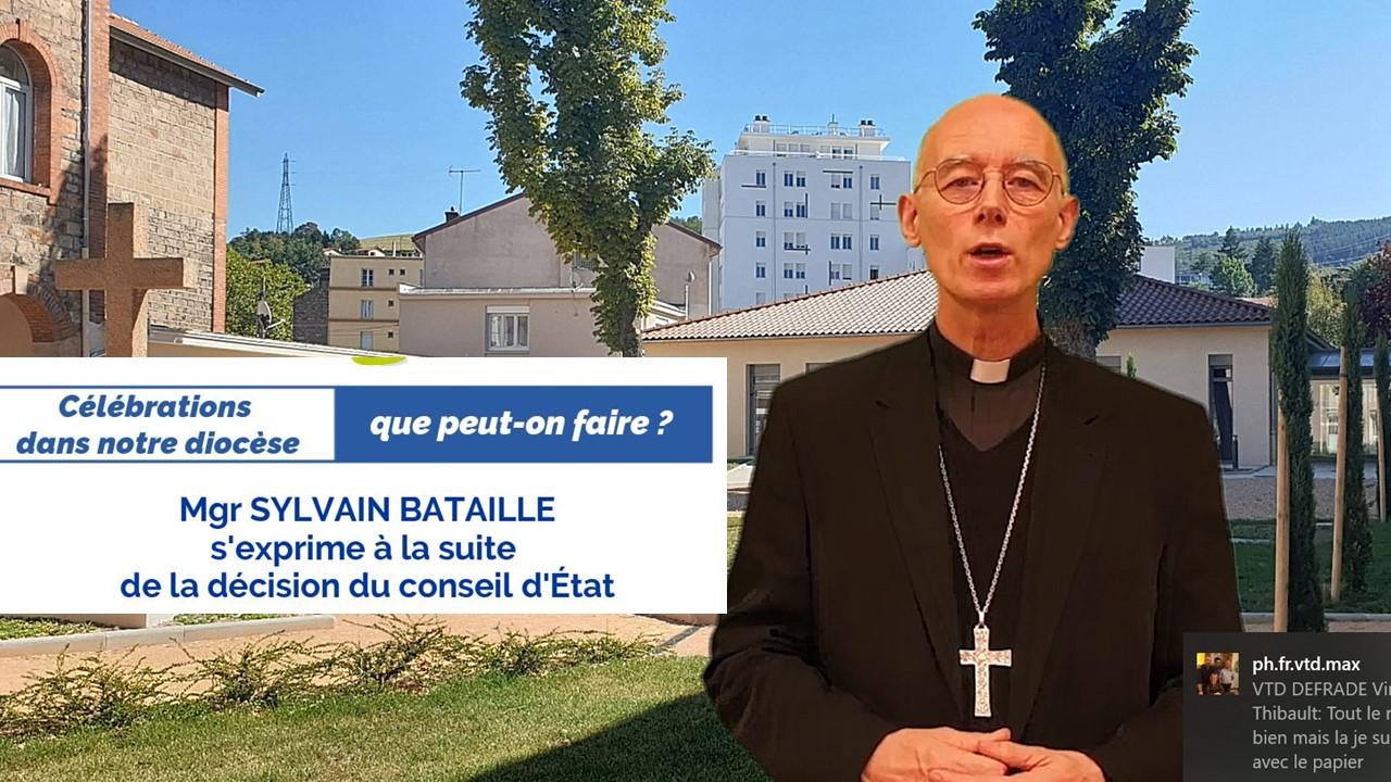 Réaction de Mgr Sylvain Bataille