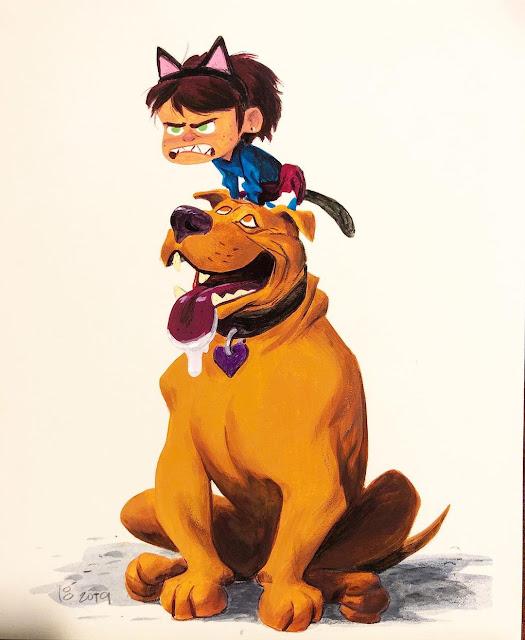Pixar SparkShort Nona Concept Artwork