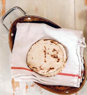 Kenyan Chapati za Maji Bread.