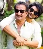 aditya redij with her father