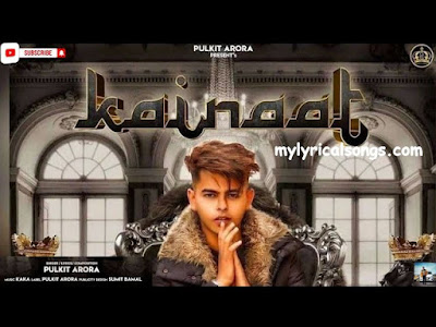 Kainaat lyrics – Pulkit Arora