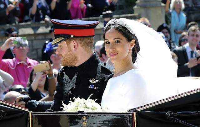 Лучшие моменты свадьбы принца Гарри и Меган Маркл в 50 трогательных снимках