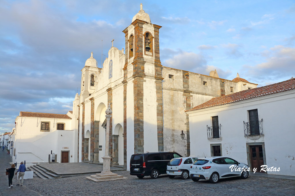 Qué ver en Monsaraz: Iglesia de Nossa Senhora da Lagoa