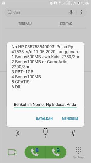 Cara Cek Nomor Indosat Oreedoo