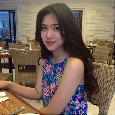 Profil Isyana sarasvati Artis doyan makan