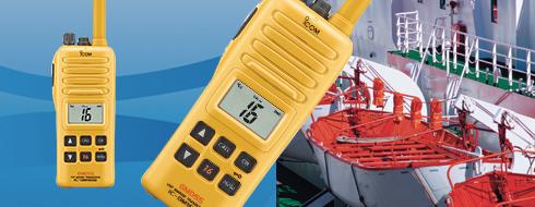 Máy bộ đàm hàng hải ICOM IC-GM1600E cho xuồng cứu sinh