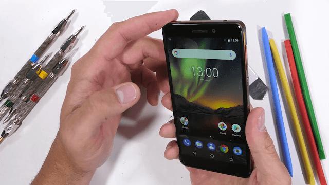 Nokia 6.1 Durability test