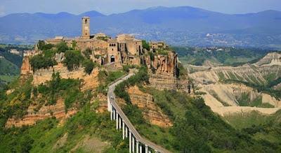 Borghi piu' belli in Italia da visitare per una vacanza nel Lazio.