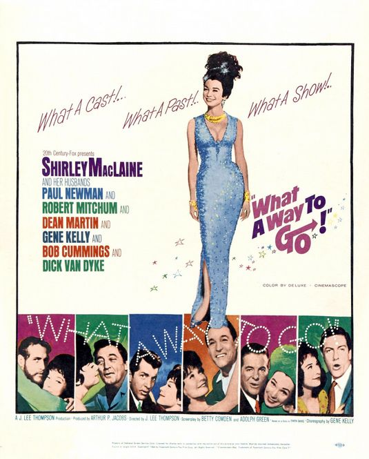 Mês Gene Kelly: os concorrentes - DVD, sofá e pipoca What A Way To Go Shirley Maclaine Gene Kelly