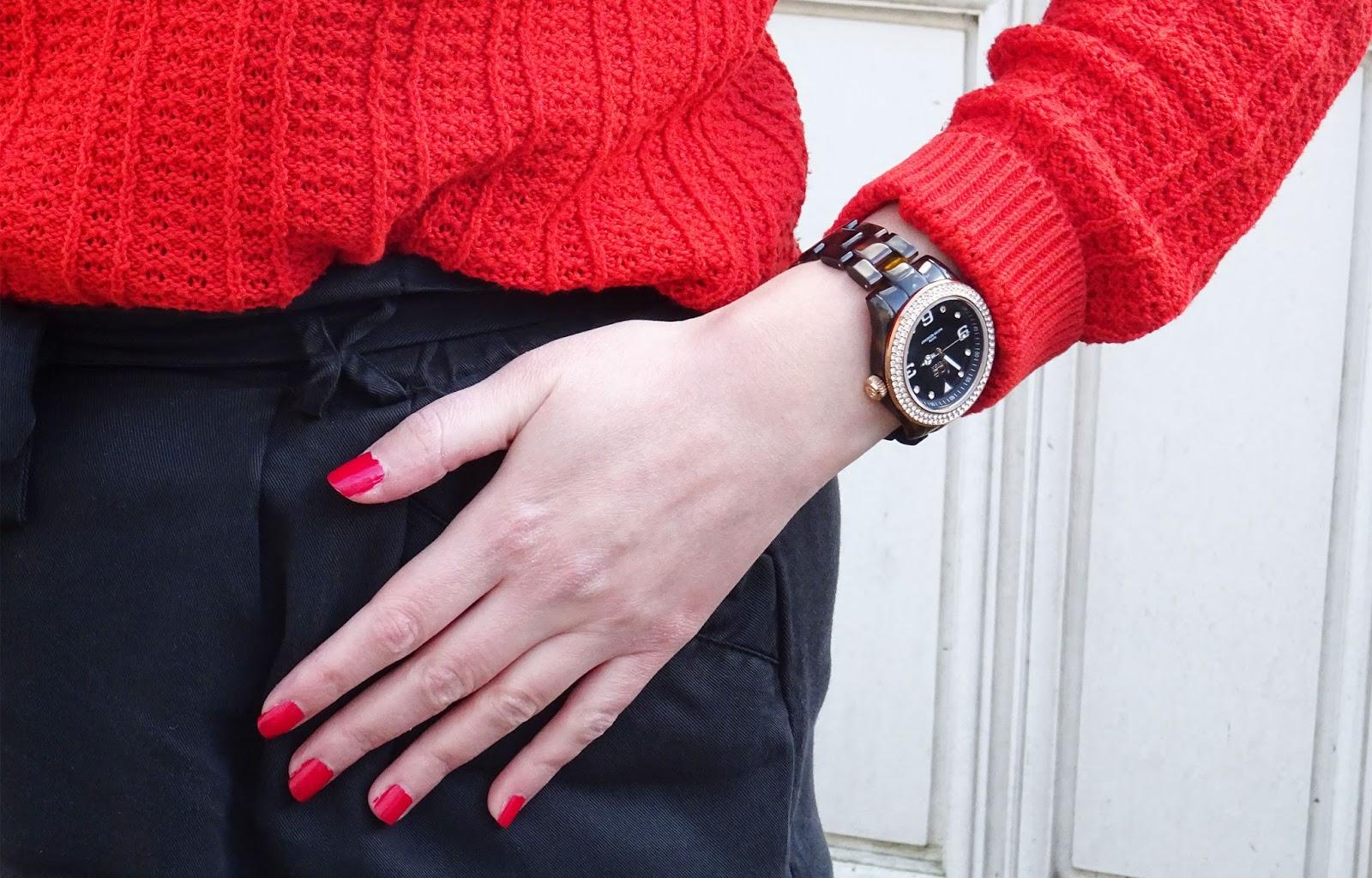 Look : Un peu de couleur en hiver