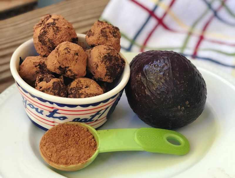 Dark Chocolate Avocado Truffles (Keto, Paleo, whole 30)