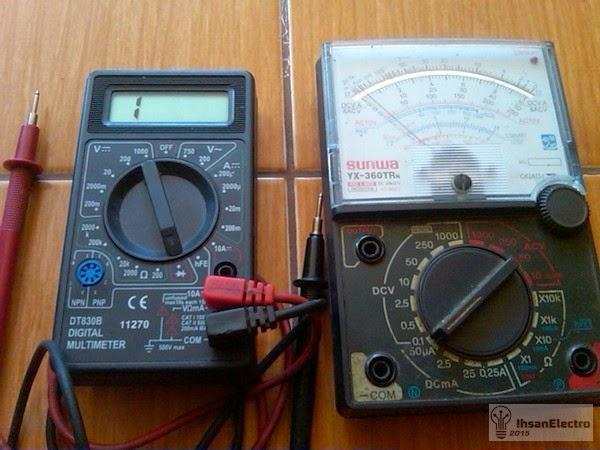 multi meter digital analog