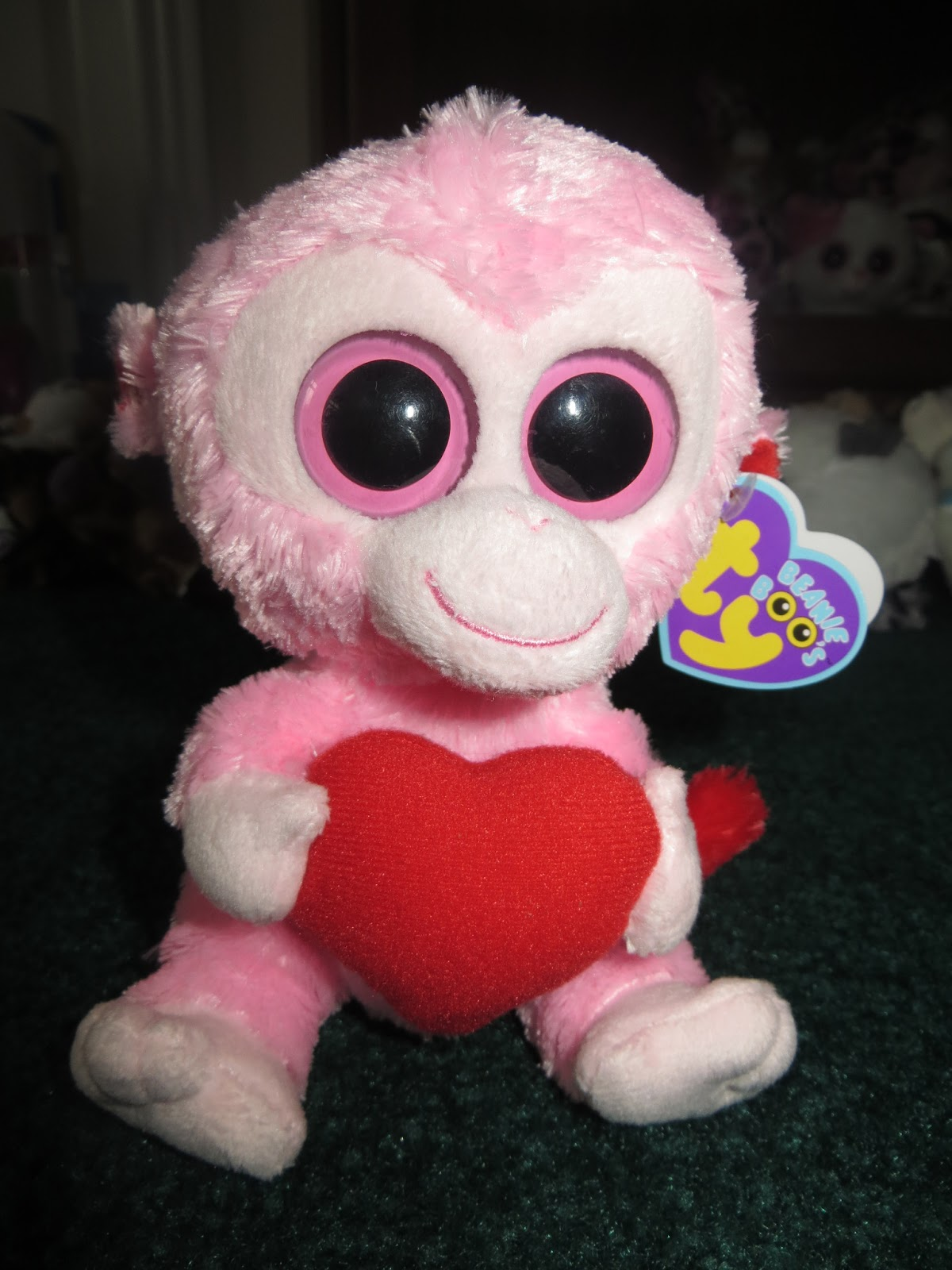 83b7610f33d Day 2 Introduction of Beanie Boos (Valentine Theme) Dogs
