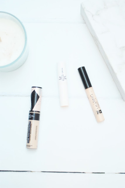 L'Oreal More Than Concealer, Natural Collection concealer, Collection Lasting Perfection concealer