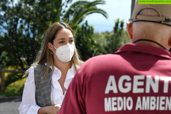 Medio Ambiente proyecta ampliar la red contra incendios de Cumbre Vieja en más de 3 kilómetros
