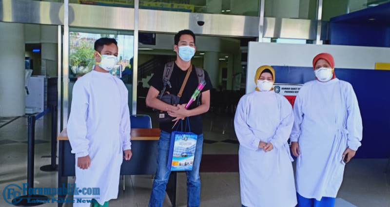 Semangat Paramedis Untuk Kesembuhan RD di RSU Raja Ahmad Tabib