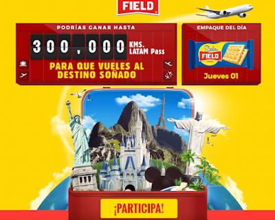[Sorteo] Gana hasta 300.000 Kilómetros Latam Pass - Promo Field