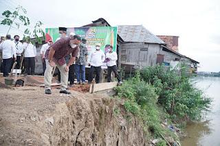 Fasilitasi Warga Bantaran Sungai, Bupati Siapkan 50 Rumah, Tahun Depan 100 Unit Rumah