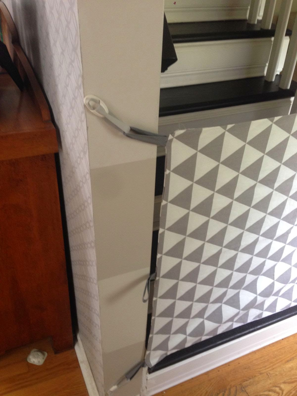 Diy Fabric Baby Gate For Stairs Clublifeglobal Com