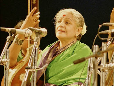 "M.S.Subbulakshmi was a Carnatic vocalist. She was the first musician ever to be awarded the Bharat Ratna, India's highest civilian honour. She is the first Indian musician to receive the Ramon Magsaysay award, often considered Asia's Nobel Prize, in 1974 with the citation reading ""Exacting purists acknowledge Srimati M. S. Subbulakshmi as the leading exponent of classical and semi-classical songs in the carnatic tradition of South India.M.S. also acted in a few Tamil films in her youth. Her first movie, Sevasadanam. Pandit Jawaharlal Nehru had this to say about M.S. Subbulakshmi- ""Who am I, a mere Prime Minister before a Queen, a Queen of Music"". While Lata Mangeshkar called her Tapaswini (the Renunciate), Ustad Bade Ghulam Ali Khan termed her Suswaralakshmi (the goddess of the perfect note), and Kishori Amonkar labelled her the ultimate eighth note or Aathuvaan Sur, which is above the seven notes basic to all music.  M.S.Subbulakshmi (Sep16,1916-December 11,2004)-మొదటగా భారత రత్న అవార్డు, ఆసియా నోబెల్ ప్రైజ్ గా పరిగణించే రామన్ మెగసెసే పురస్కారం పొందిన మొదటి సంగీత కళాకారిణి, తన మధుర గానంతో యావత్తు ప్రపంచ వ్యాప్తంగా అభిమానులను సంపాదించుకున్న మహా గాయిని ఎం ఎస్ సుబ్బలక్ష్మి గారు"