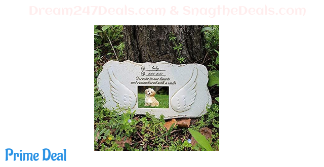 32% OFF  Pet Dog Memorial Stone Photo Frame