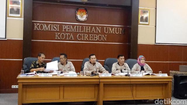 KPU Kota Cirebon Tolak Permintaan Pencoblosan Ulang