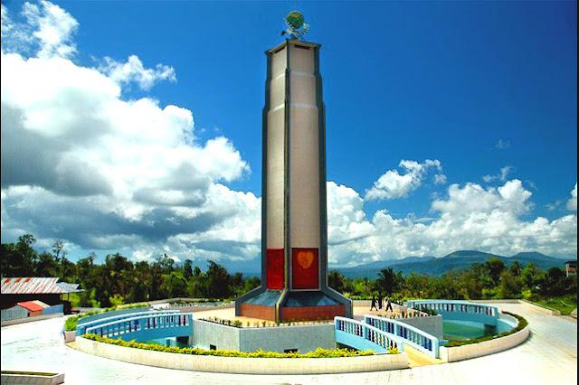 tempat wisata di manado - Bukit Kasih