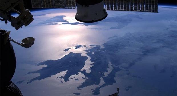 Όταν κοιτάς την Πελοπόννησο από το διάστημα