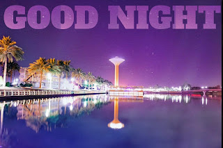 Good night heart image, beautiful good night image