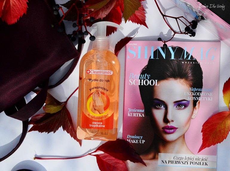 Beauty School by ShinyBox - Cleanhands Odświeżające mydło antybakteryjne