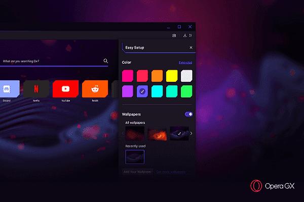 رسميا : يمكنك تحميل متصفح Opera GX الجديد الذي سيدهشك بخصائصه