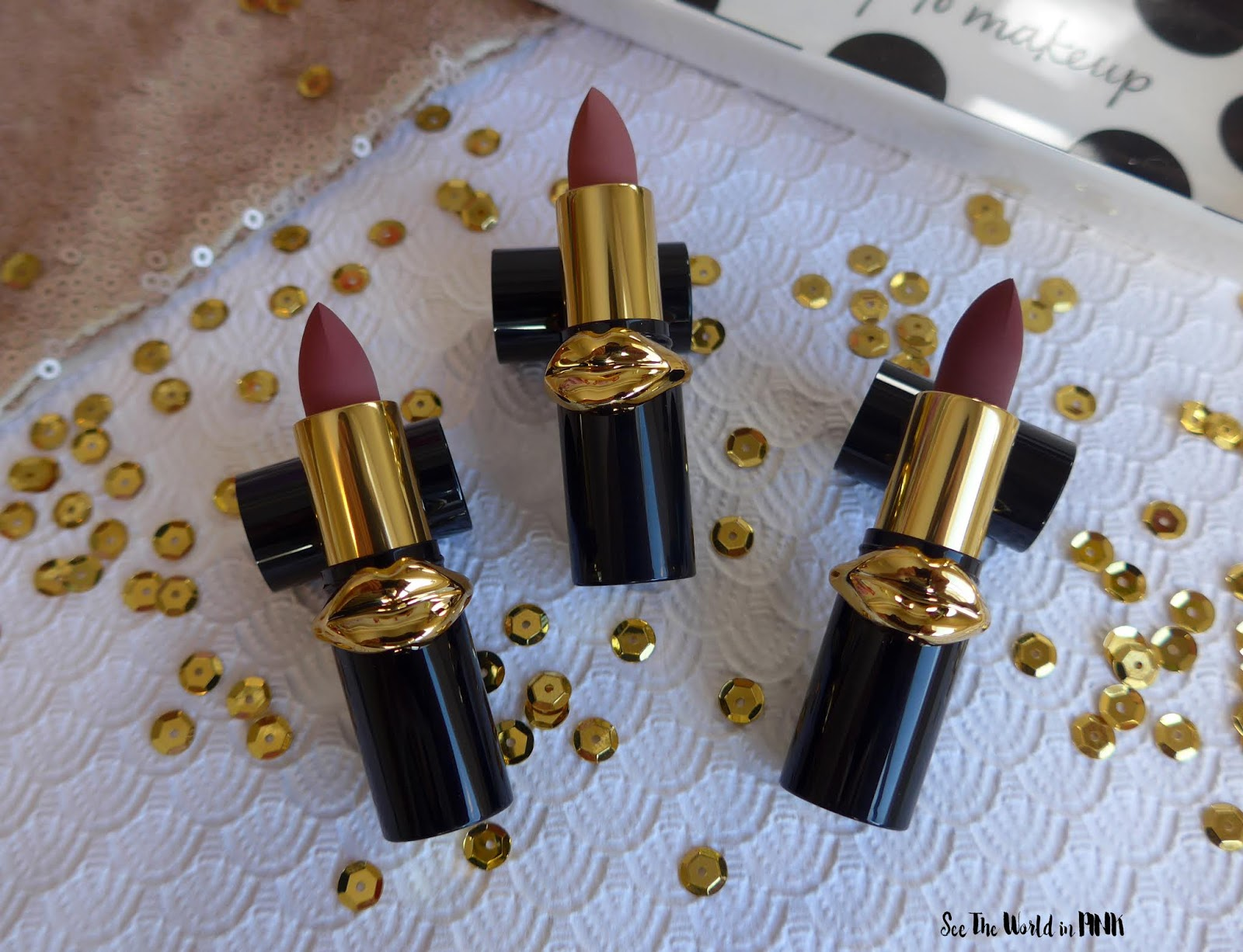 Pat McGrath Labs - Lust: Mini MatteTrance Lipstick Trio in Skin Show
